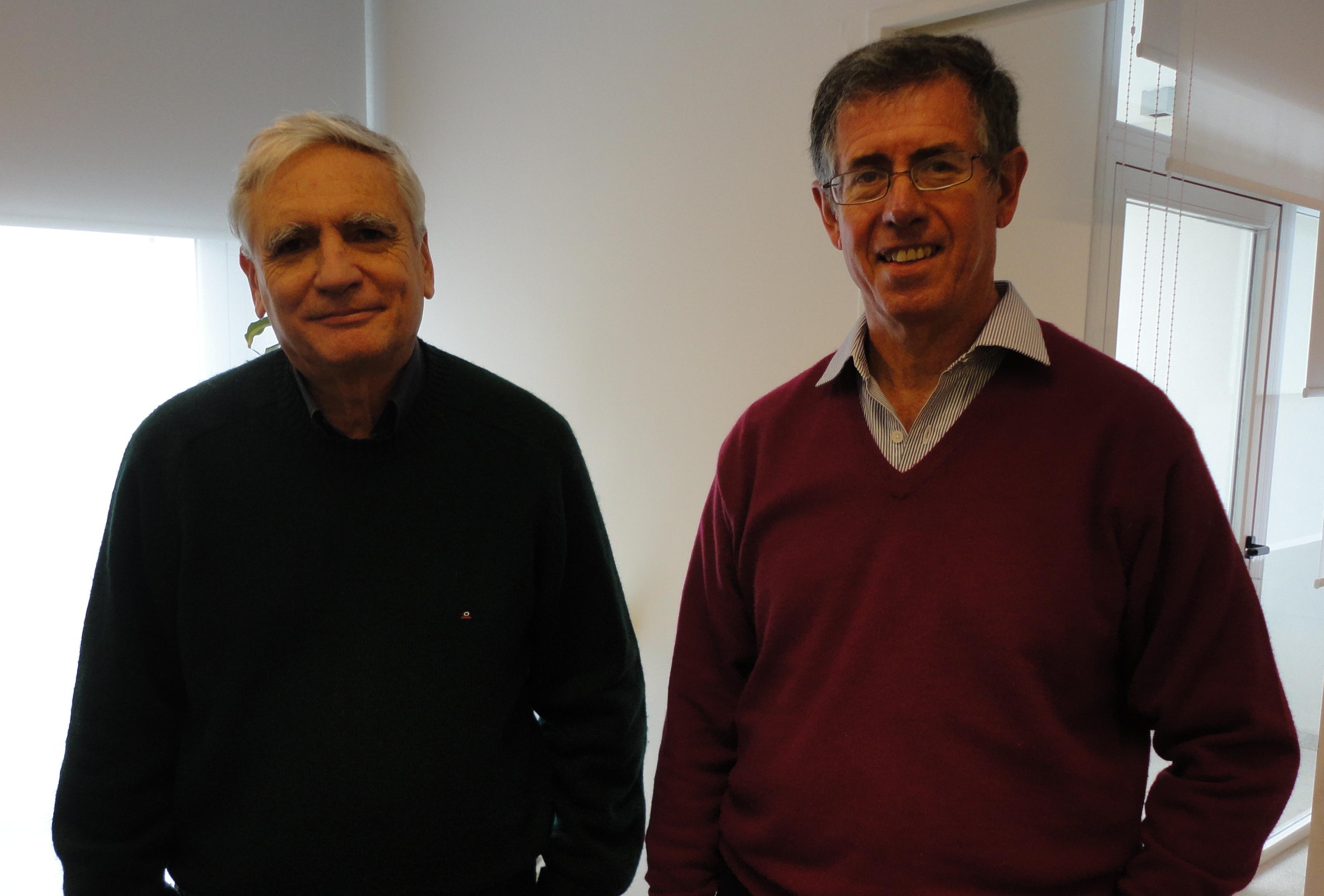Carlos Rapela y Luis Epele
