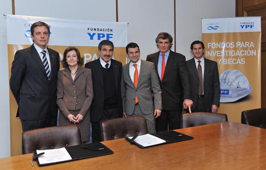Fundación YPF y CONICET
