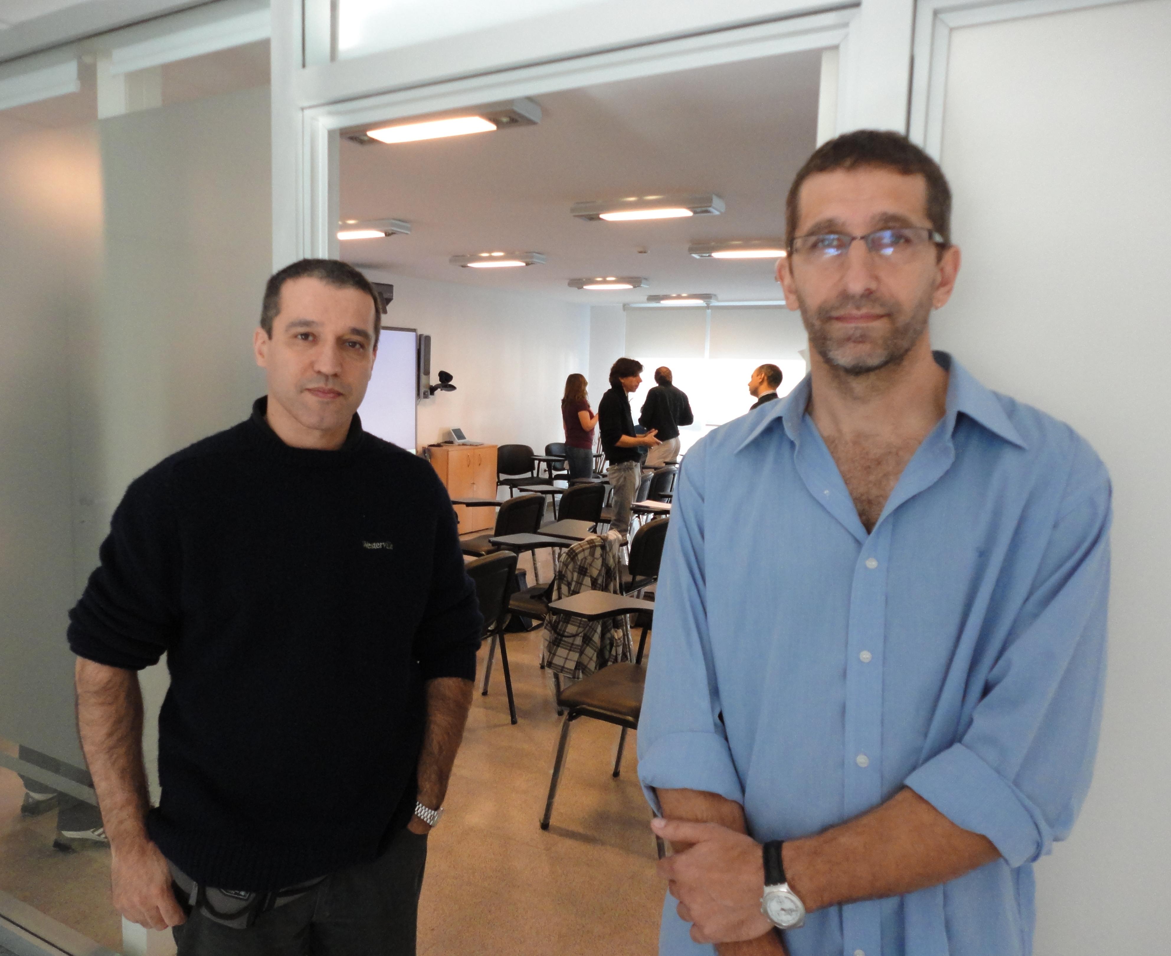 Gerardo Rossini y Daniel Cabra