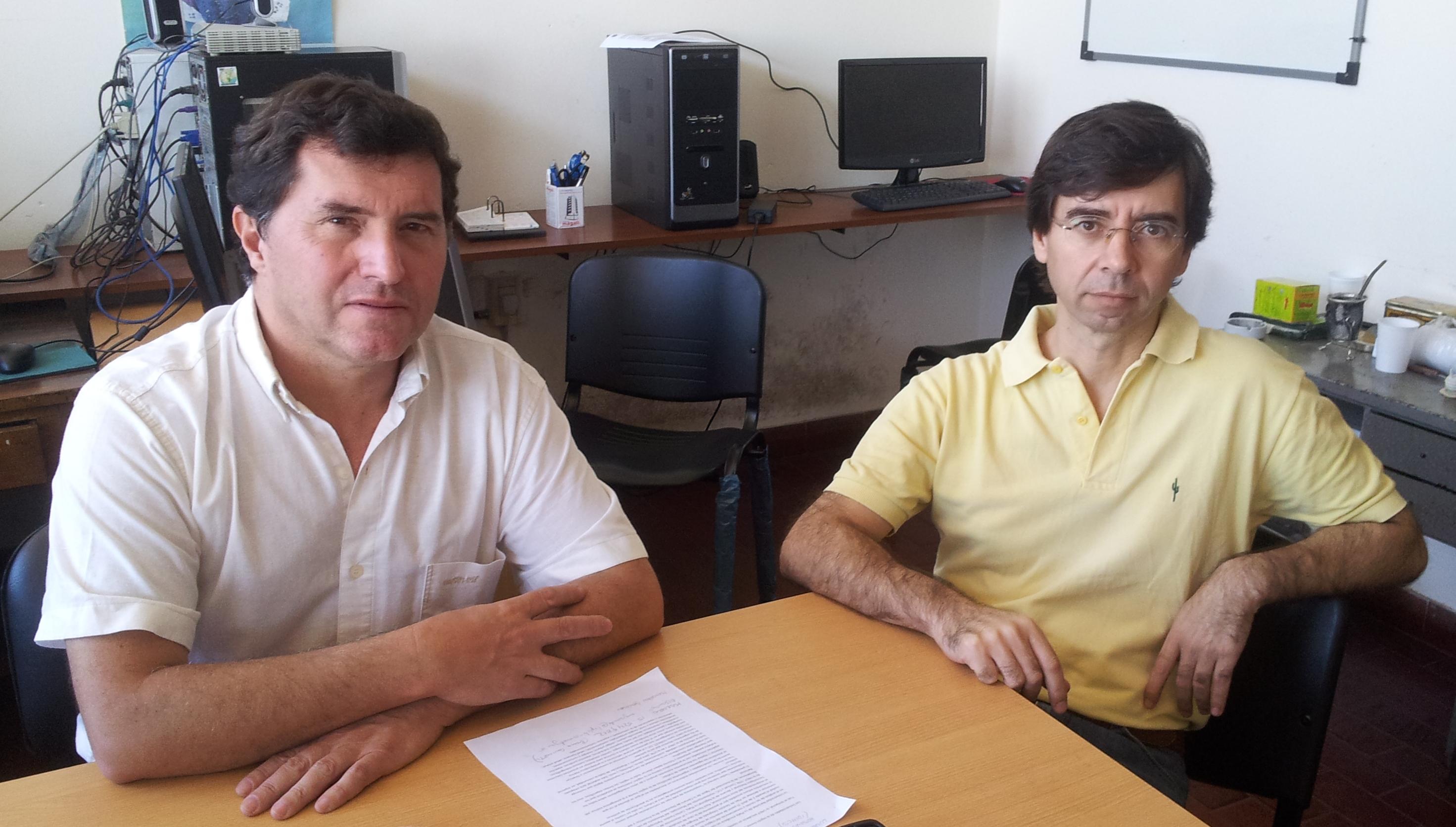 Horacio Bozzano y Guillermo Banzato
