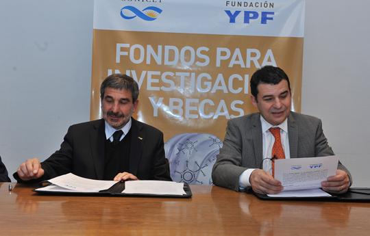 Roberto Salvarezza y Miguel Galuccio