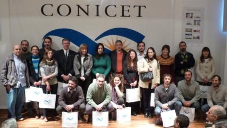 Acto de bienvenida en el CONICET La Plata