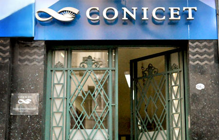 Imagen del frente del CONICET