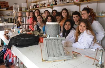 Los alumnos participantes del proyecto