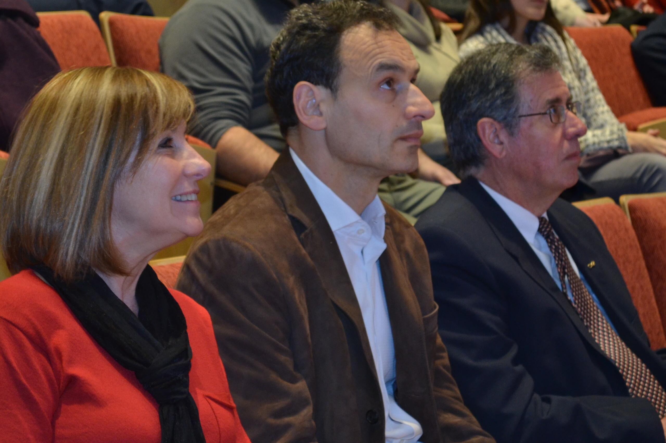 Pilar Peral García, Pablo Bruera y Luis Epele
