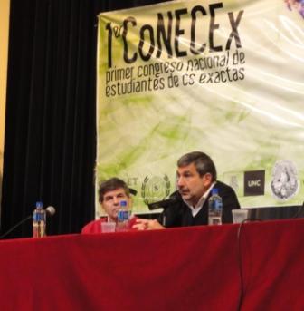 Salvarezza en el CoNECEx 2013