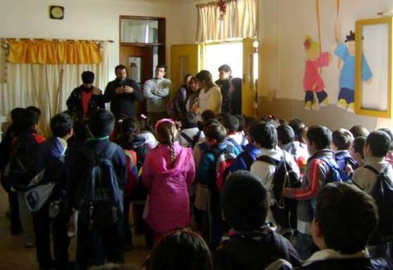Visita de investigadores del CIOp a Entre Ríos