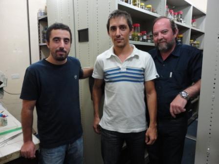 Diego Di Pietro, Federico Kacoliris y Jorge Williams