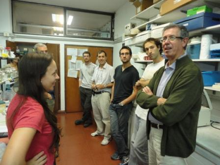 Epele charla con jóvenes científicos