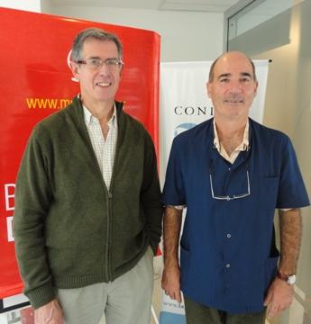 Luis Epele y Juan Cavallín