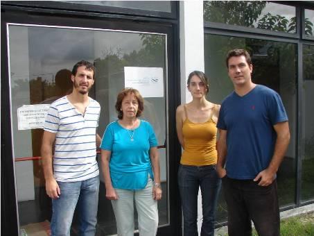 Pablo Fernández, María Elisa Martins, María Celeste Dalfovo y Francisco Ibáñez -