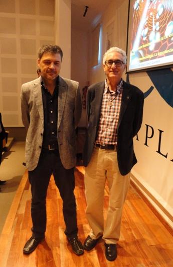 Félix Requejo y Arturo López Quintela