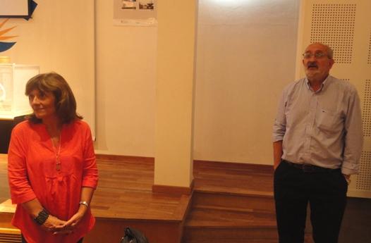 Claudia López Lastra y Juan José García