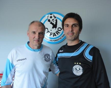 Sergio Vizcaíno y Leandro Cortizo