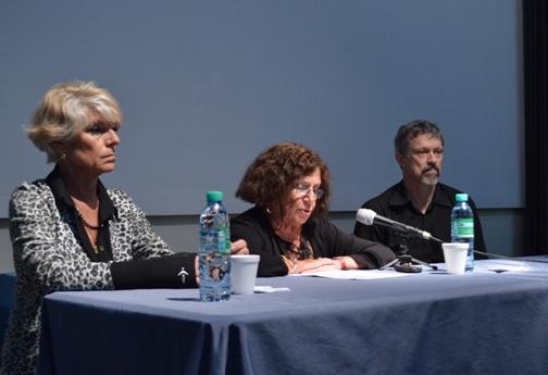 Alicia Castro, Susana Salceda y Axel Nielsen