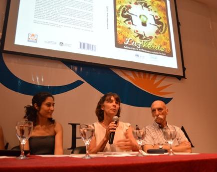 Paula Bergero, Cecilia von Reichenbach y Daniel Sergnese