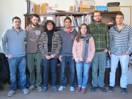 El equipo completo que participa de la investigación