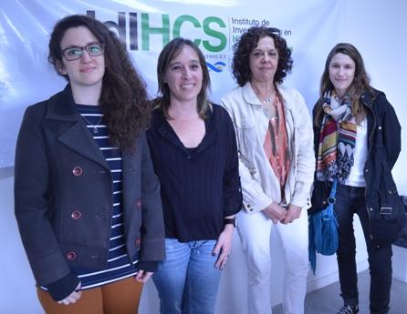 Marina Illanez, Ana Ramírez, Laura Lenci y Paula Román