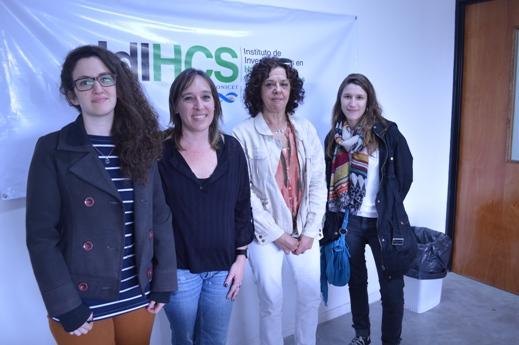 Marina Illanez, Ana Ramírez, Laura Lenci y Paula Román2