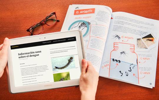 Divulgación científica sobre dengue