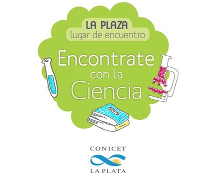 Logo plaza - CONICET