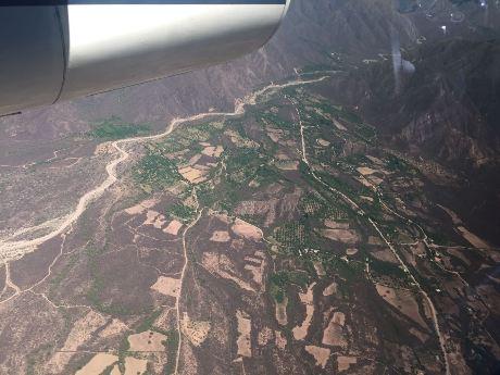 Aplicación de la tecnología LIDAR aérea. FOTO Luis Enrique Pinto