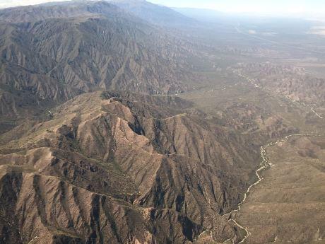 Escaneo láser aéreo y terrestre. FOTOS Gentileza investigadores (8)