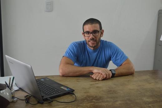 Doctor José Manuel Latorre Estivalis. Foto CONICET Fotografía