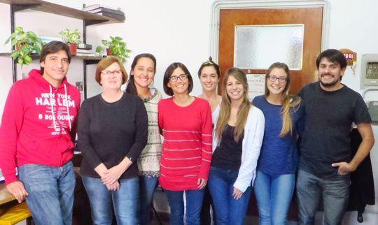 Los autores del trabajo integran el Laboratorio de Neurofisiología del IMBICE. FOTO Gentileza investigadores