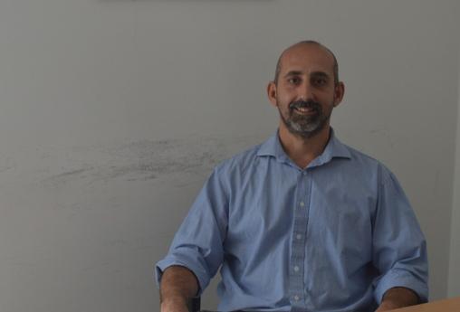 Pablo Arnal, investigador a cargo de la línea de investigación