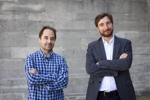 César Caiafa y Franco Pestilli. FOTO Mike Jackson