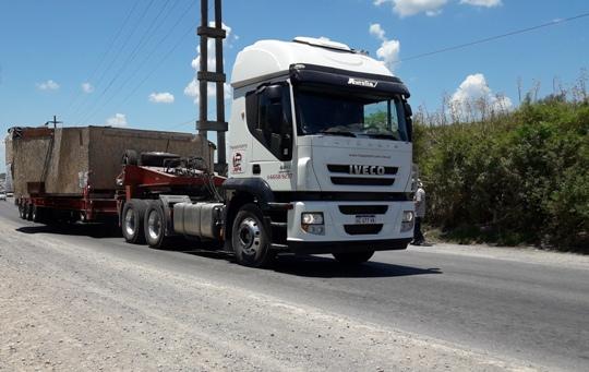 Las cargas especiales emprendieron viaje hacia Salta