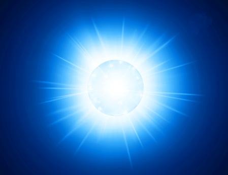 Ilustración de la supernova. Créditos Kavli IPMU