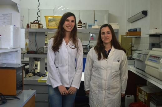 Diana Hohl y Cecilia Catanesi. FOTO CONICET Fotografía
