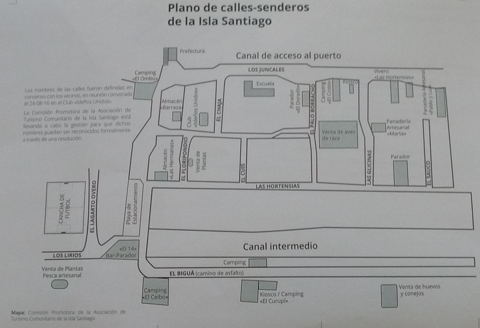 Mapa previo