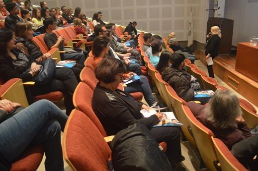 Apertura de las II Jornadas Argentinas de Aracnología