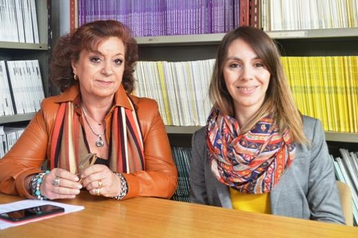 Lucía Scaffardi y Jésica Santillán. FOTOS CONICET Fotografía