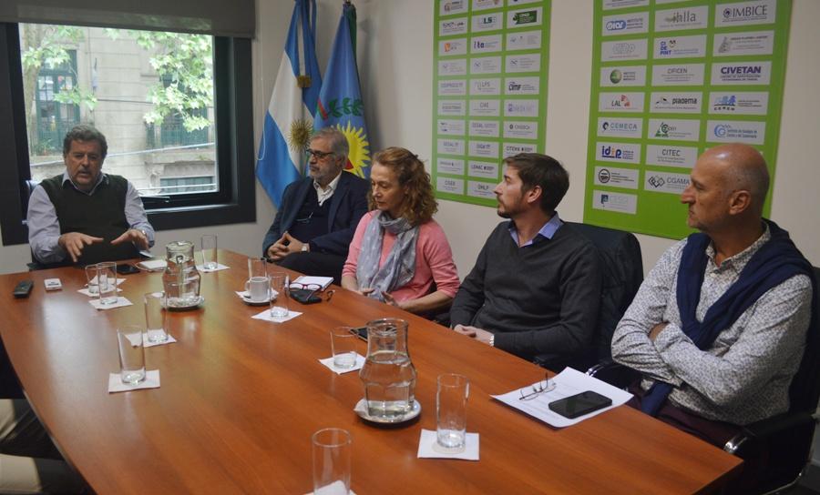 Elustondo, Torres, Zubillaga, Mariano Busti y Vila Petroff