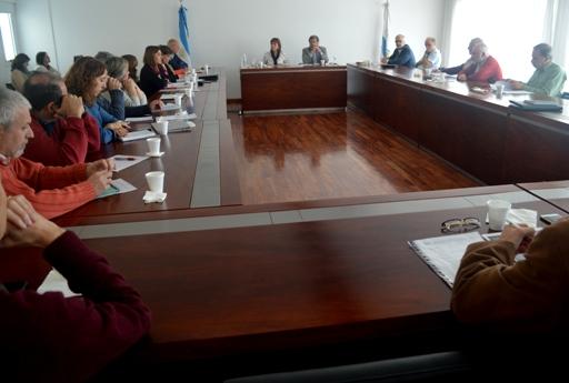 Los directores de centros e institutos dialogaron con el ministro de Ciencia. FOTO CONICET Fotografía