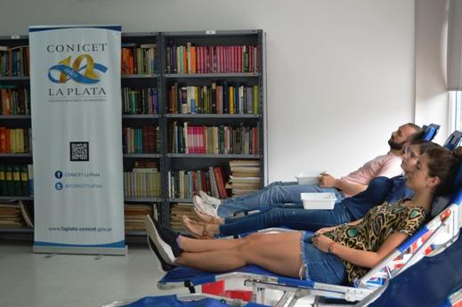 Culminó la séptima colecta de sangre del CONICET La Plata (3)