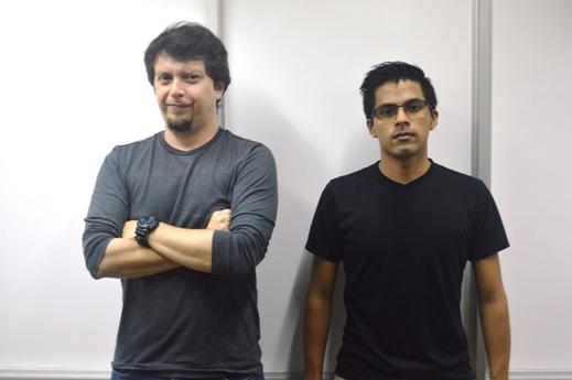 Julián Rengifo y Jhon Alvear Daza. FOTO CONICET Fotografía