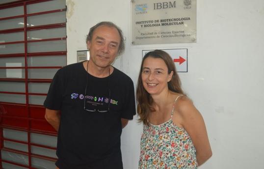 Ricardo Gómez y María Florencia Ferrer web